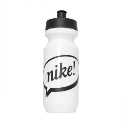 Nike 水壺 Big Mouth Water Bottle 2代 健身 重訓 單車 大嘴巴 上學 白 黑 N000004312722