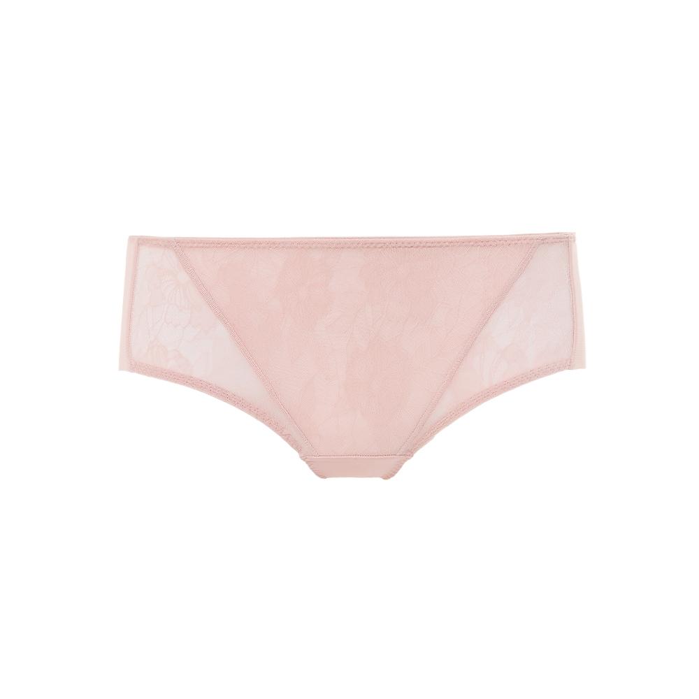 黛安芬-風格自在系列 無痕中腰平口內褲 M-EEL 粉膚色