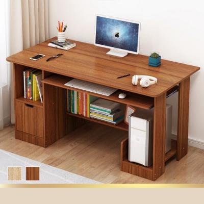[時時樂限定] Effect 120cm電腦桌/工作桌 (2色/附鍵盤抽屜)