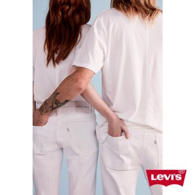 Levis 男女同款 中低腰修身窄管牛仔褲 Line8歐系簡約 彈性布料