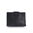 M.R.K.T. 全黑重磅毛氈長背帶側背包-528500B BLACK(黑色)