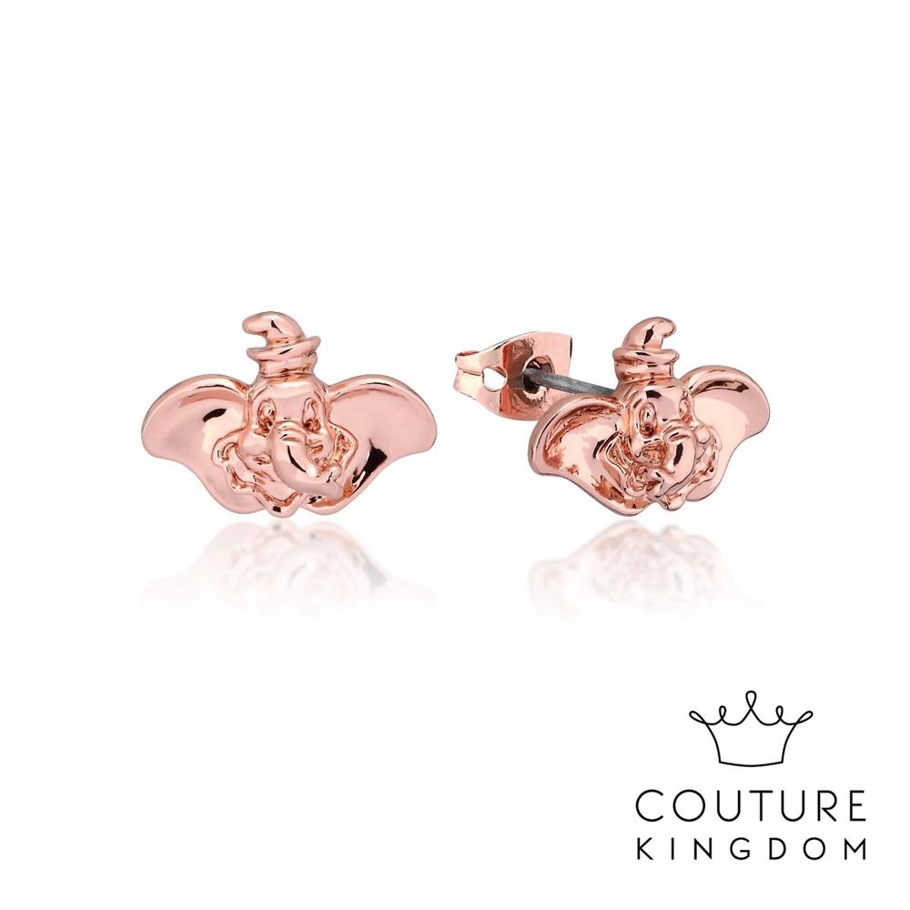 Disney Jewellery by Couture Kingdom 小飛象鍍玫瑰金耳釘