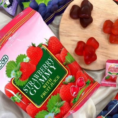 COCON可康草莓QQ水果軟糖 100g