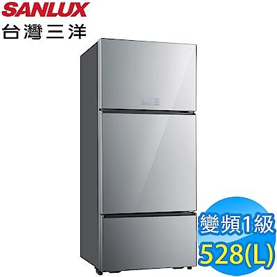 SANLUX台灣三洋 528L 1級變頻3門電冰箱 SR-C528CVG
