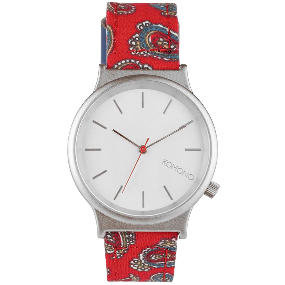 KOMONO Wizard Print 腕錶-赤紅變形蟲/37mm