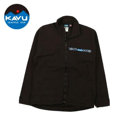 【KAVU】 F/Z Throw Shirts 襯衫式外套 黑色 #307