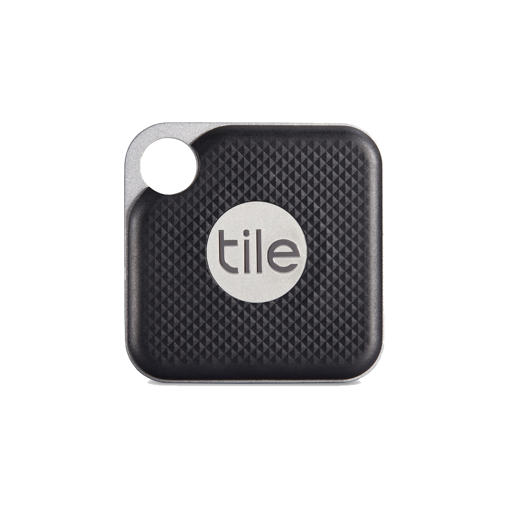【Tile】防丟小幫手- Pro可換電池 黑(2入組)