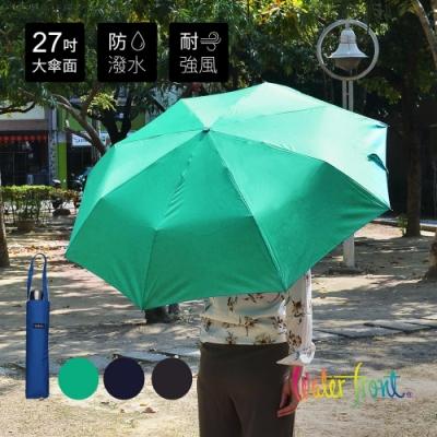 日本Waterfront 大傘面強化鋼骨鋁合金抗風防潑水速乾雨傘