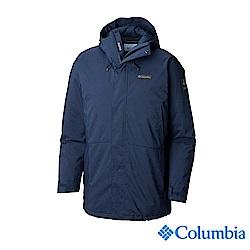 Columbia哥倫比亞 男款-Omni-TECH 保暖羽絨外套-深藍