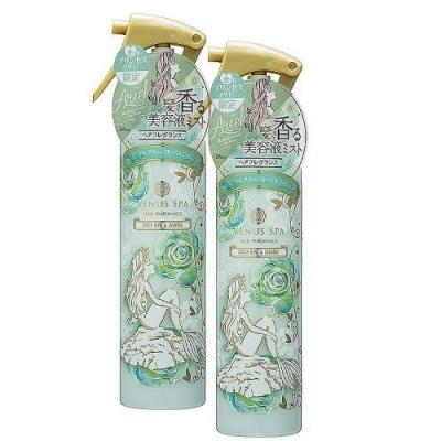 Venus Spa 愛麗兒公主髮香噴霧 150ml (綠玫瑰&茉莉) x 2 入