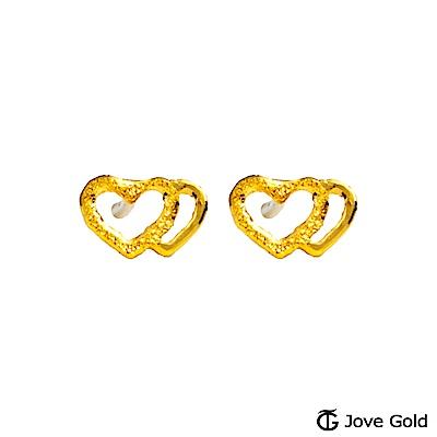 Jove gold 心語黃金耳環