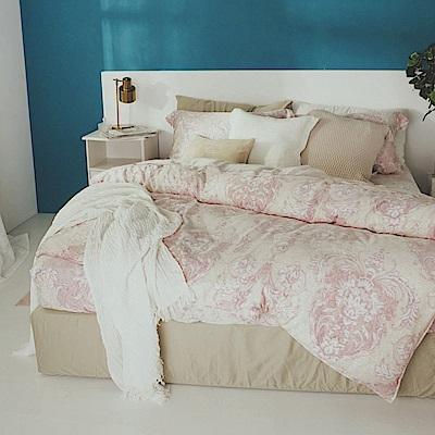 絲薇諾 60支天絲 水澤女神 加大四件式-薄床包鋪棉被套組