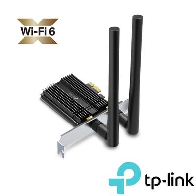TP-Link Archer TX50E AX3000 Wi-Fi 6 藍芽 5.0 PCI-E Express無線網路介面卡(無線網卡)