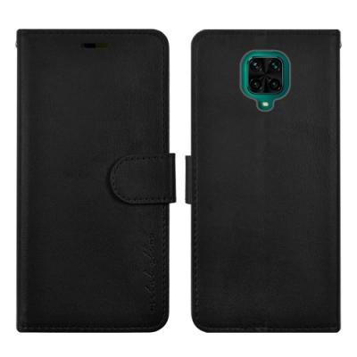 Metal-Slim 紅米Note9 Pro/Note9 Pro Max 高仿小牛皮磁吸多工卡匣TPU皮套