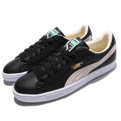 Puma 休閒鞋 Basket Classic 復古 男女鞋 基本款 情侶鞋 穿搭推薦 黑 白 35191202