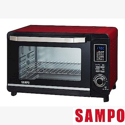 SAMPO聲寶30L微電腦雙溫控烤箱(福利品) KZ-PC30F
