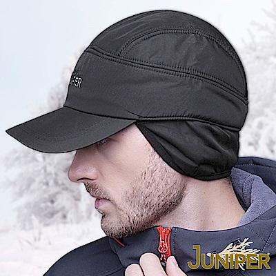 JUNIPER 男女鋪棉防潑水保暖吸濕排汗防風毛絨護耳運動冬帽