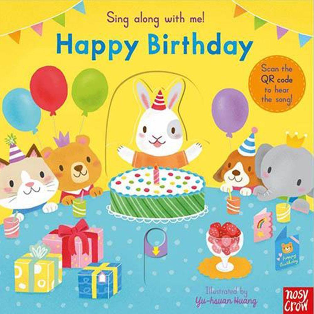 Happy Birthday 生日快樂童謠歌唱操作書(英國版)