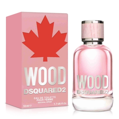 DSQUARED2 WOOD 天性女性淡香水50ml