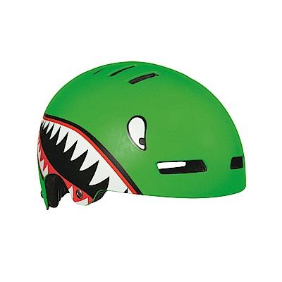 【LAZER】Street JR 兒童用安全帽 小鯊魚