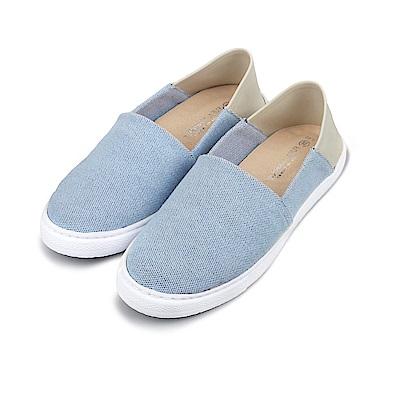 BuyGlasses 輕描淡寫後踩懶人鞋-藍