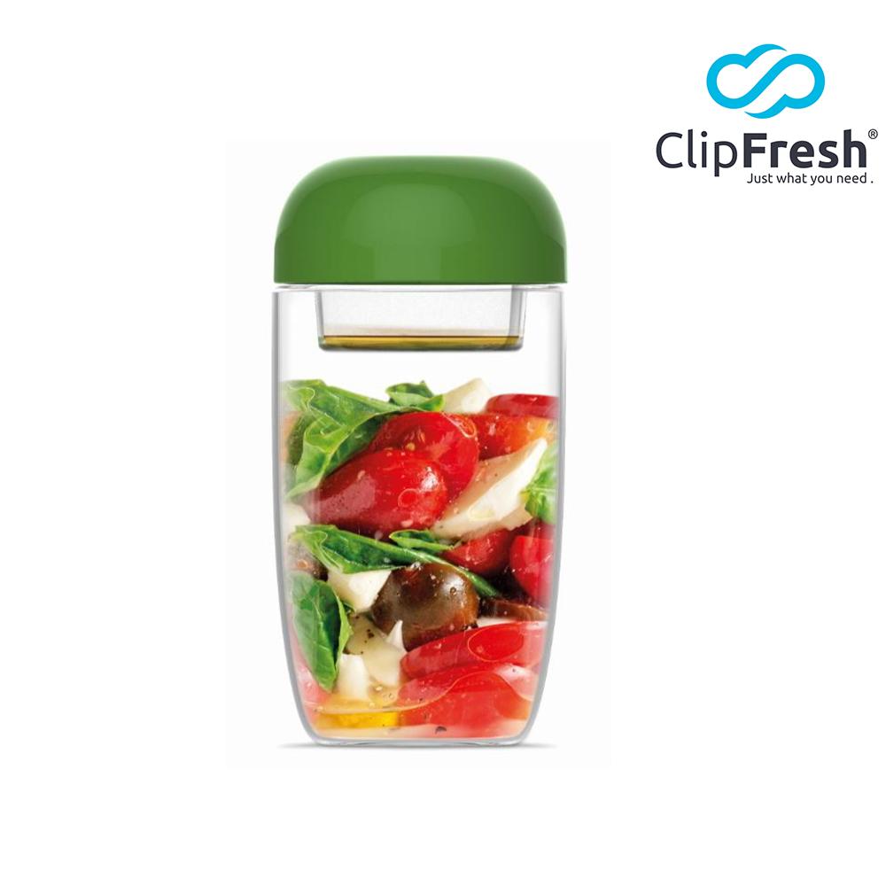 CLIP FRESH 樂搖嗑鮮沙拉杯660ML(綠)(快)