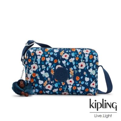 Kipling 牧場彩繪風格小巧簡約拉鍊方包-COLLEEN