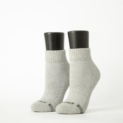 Footer除臭襪-素面運動逆氣流氣墊襪-六雙入(黑*2+淺灰*2+桃紅*2)
