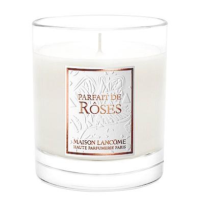 LANCOME 蘭蔻 絕對完美頂級巴黎玫瑰香氛蠟燭 190g(速)