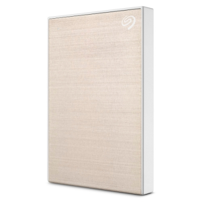 Seagate Backup Plus Slim 2TB 外接硬碟-金
