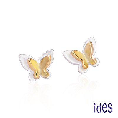 ides愛蒂思 輕甜時尚設計耳環/蝴蝶
