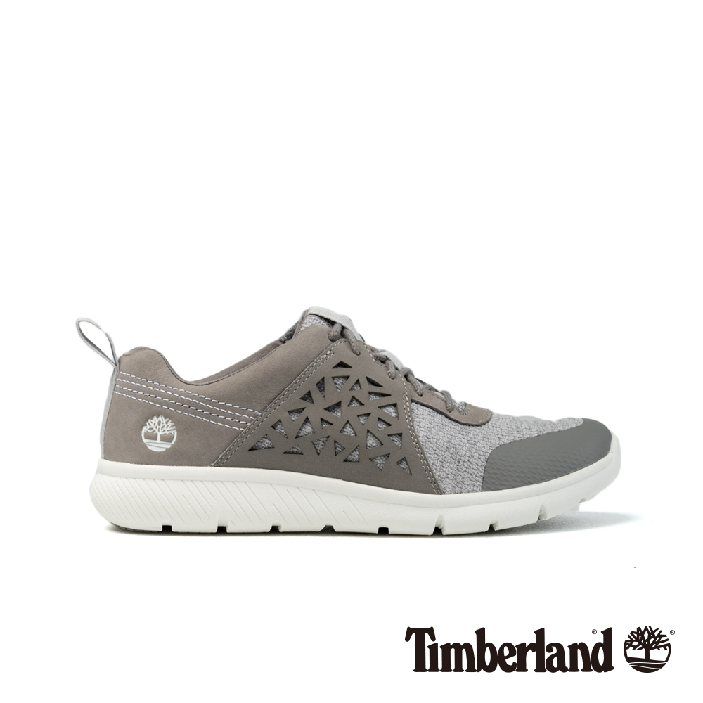 Timberland 女款灰色正絨面皮革Boltero低筒靴|A1QSI @ Y!購物