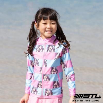 STL kids 兒童 韓國 海灘/海邊 機能運動戶外 防磨 水母衣外套 粉Saffron