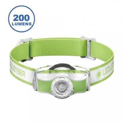 LED LENSER MH3 專業伸縮調焦頭燈 200流明 綠 登山露營入門推薦款
