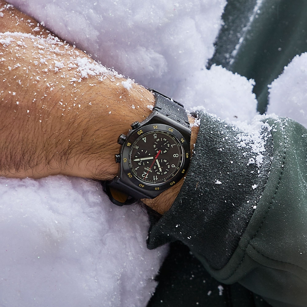 Swatch Irony 金屬Chrono系列手錶 VIDI - 43mm