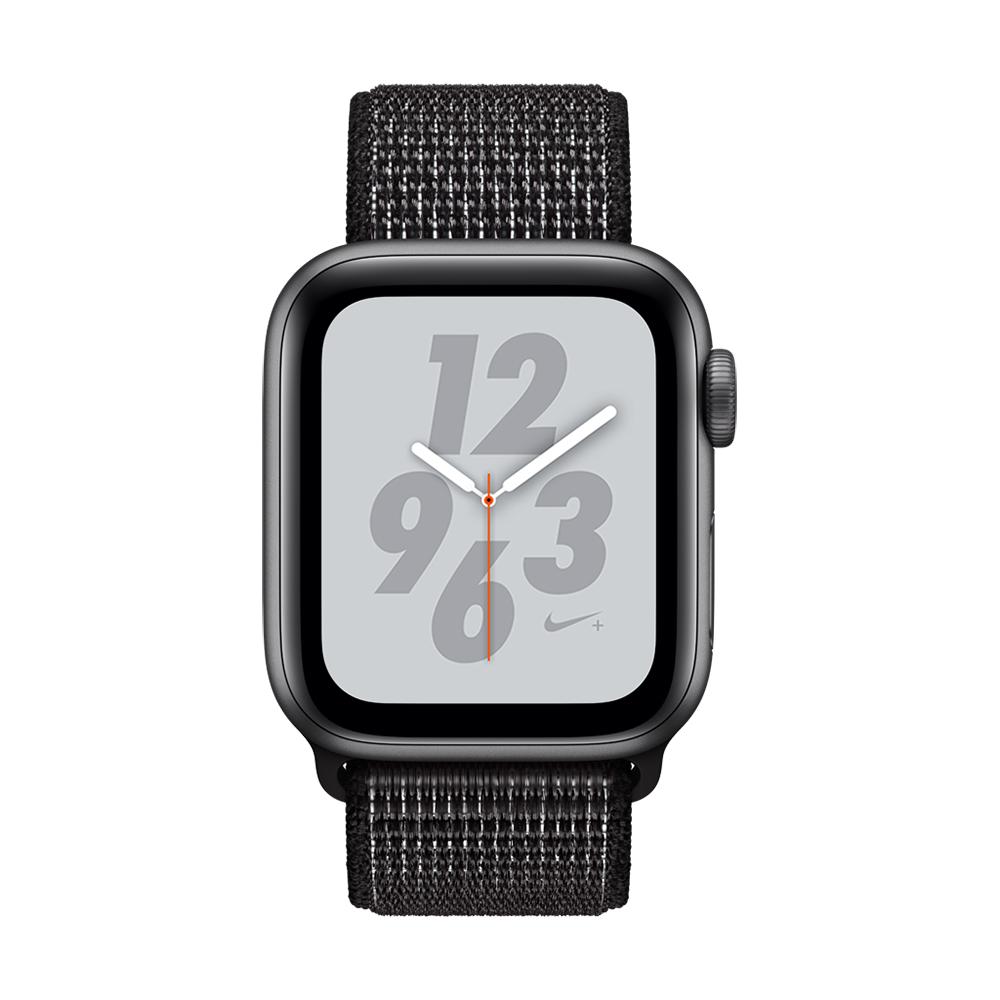 Apple Watch Nike+ S4(GPS)40mm 太空灰色鋁金屬+黑色錶環