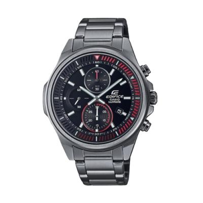 CASIO卡西歐 EDIFICE 輕薄 三針三眼 運動計時碼錶 EFR-S572DC-1A_44.7mm