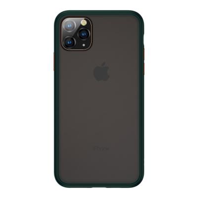 Benks iPhone11 Pro Max (6.5吋) 防摔膚感手機殼●墨綠