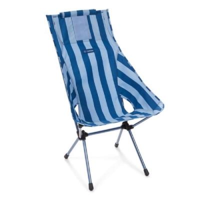 Helinox Sunset Chair 輕量高腳椅 藍條紋 Blue Stripe