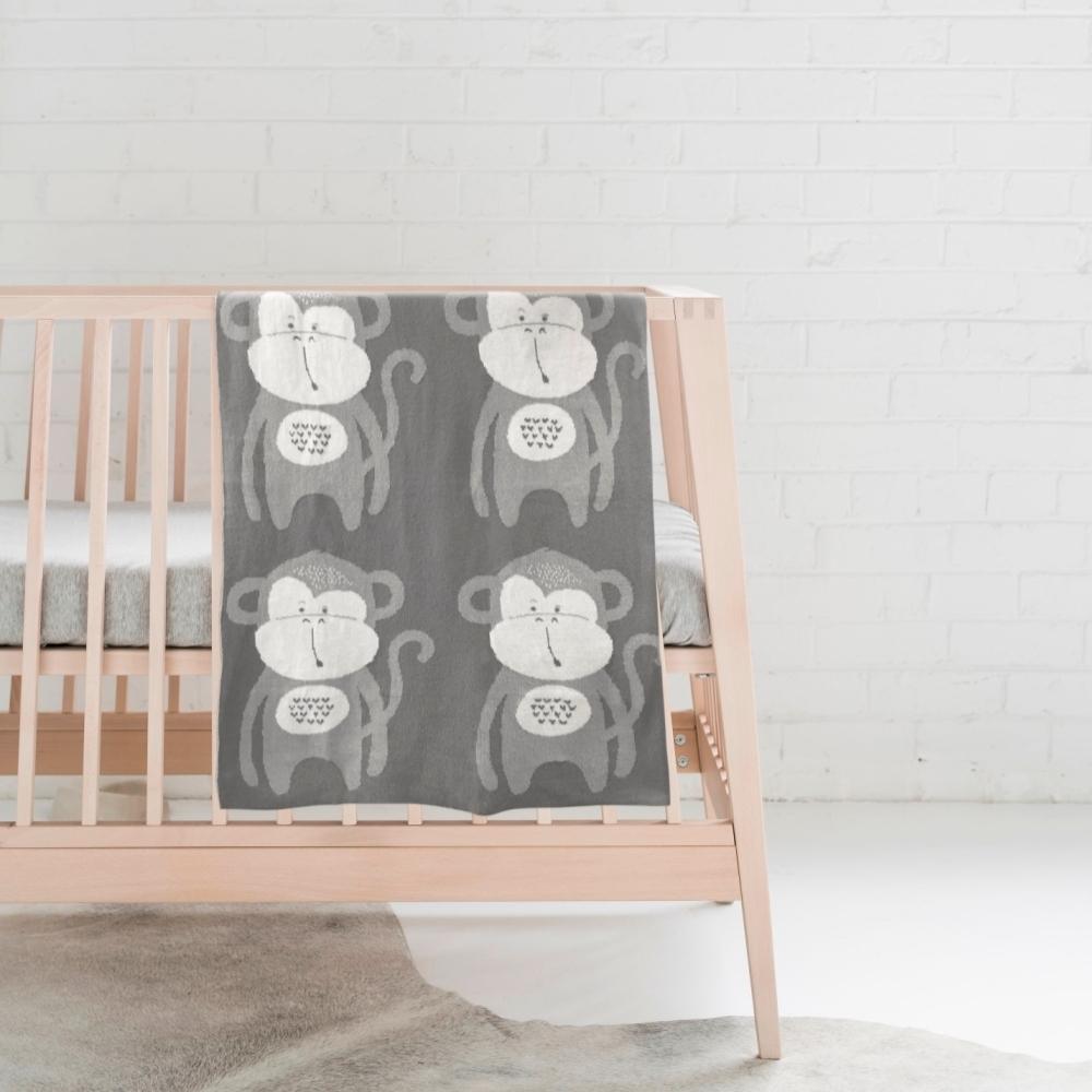 澳洲Mister Fly嬰幼兒針織毯-新生兒棉毯