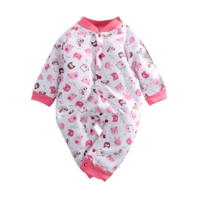 灣製刷毛加厚嬰兒連身衣 k61043 魔法Baby