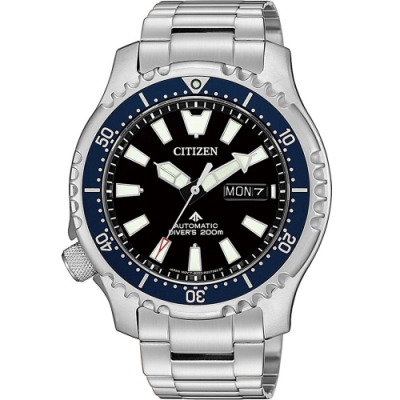 CITIZEN PROMASTER 黑豹特遣隊機械錶(NY0098-84E)