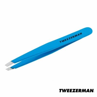 Tweezerman 專業斜口鑷-天空藍
