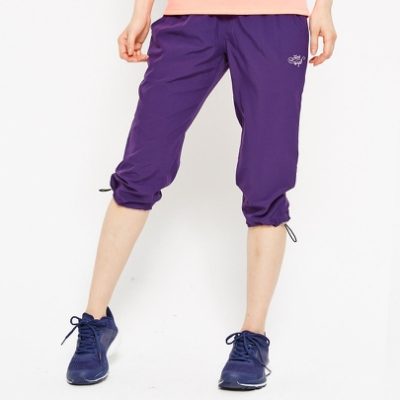 【FIVE UP】風衣七分褲-紫