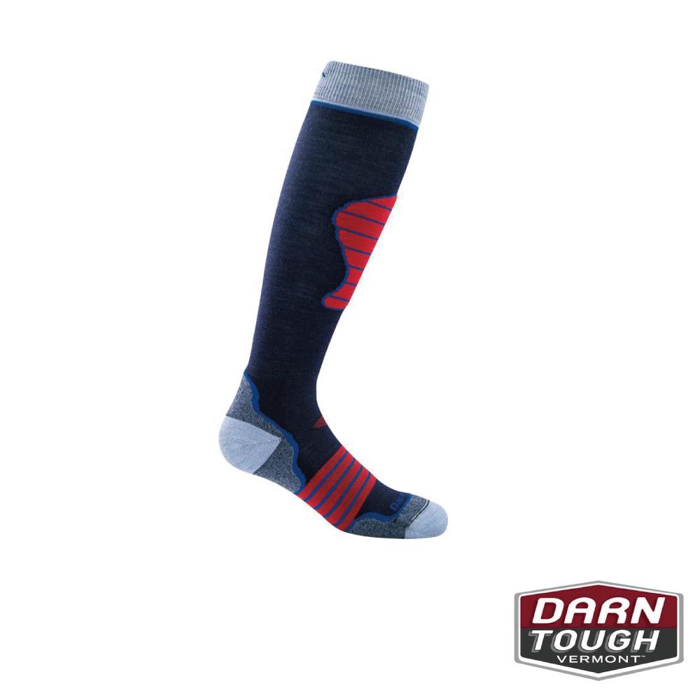 【美國DARN TOUGH】孩童羊毛襪PADDED滑雪襪(2入隨機)