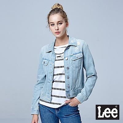 Lee 牛仔外套-冰藍色