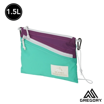 Gregory 1.5L SACOCHE LT輕量斜背包 翡翠/紫