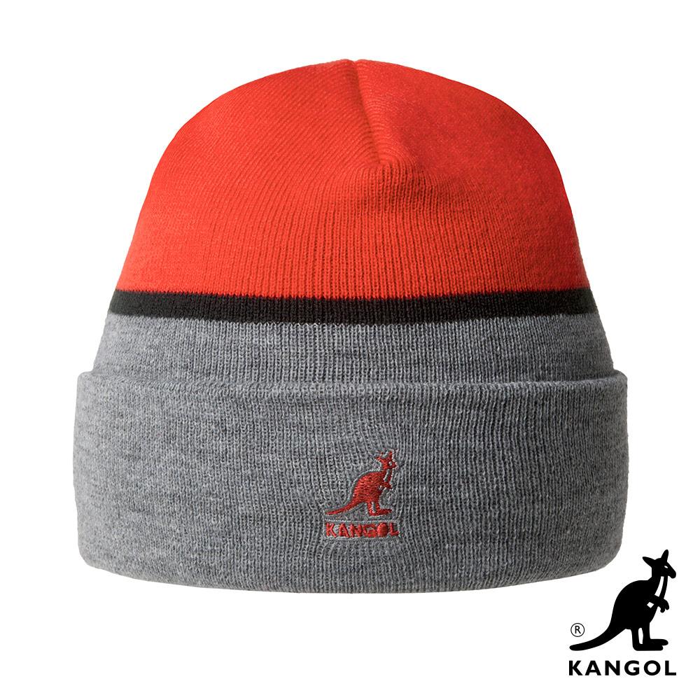 KANGOL頭顱帽-橘色