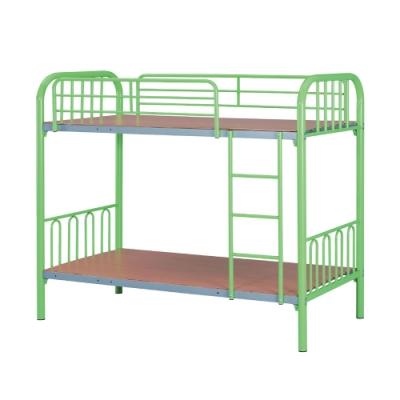 綠活居 吉斯 現代3.2尺鐵製單人雙層床台組合(四色可選)-95x195x183cm免組