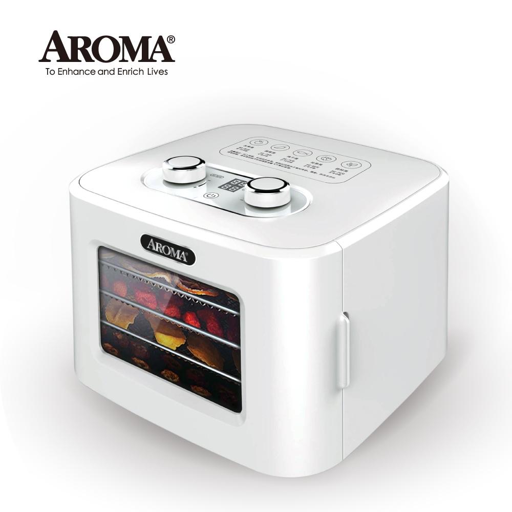 【美國最新款】美國 AROMA 四層溫控乾果機 果乾機 食物乾燥機 烘乾機  AFD-310